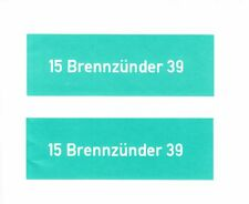 STENCIL SET  15 Brennzunder 39 WW2 GERMAN  EGG GRENADE EIHANDGRANATE RACK HOLDER