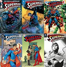 SUPERMAN UNCHAINED #1 deutsch VARIANT-BOX 6 Hefte+Druck signed JIM LEE lim.99 Ex