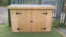 "6ft x 2ft 6"" x 4ft high WOODEN PRESSURE TREATED GARDEN SHED - NEW"