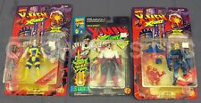 Marvel Comics X-Men X-Force GENESIS CABLE CYBORG & BLACK TOM Figures ToyBiz NIP