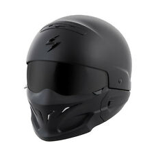 Scorpion Covert Street Motorcycle Helmet Solid Matte Black Large LG