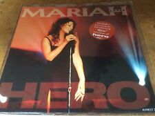 "Mariah Carey - Hero / Hero (live) - Rare Dutch 1993 7"" Vinyl Single."