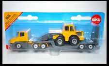 Siku 1616 Low Loader with Front Loader Diecast Car New