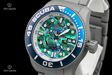 Invicta 50mm TI-22 Series Abalone Dial Titanium Automatic Bracelet Watch - 22083