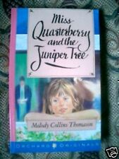 Miss Quarterberry and the Juniper Tree-1989-1st-Scarce Paperback, First Edition