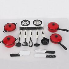 13pcs/Set Pots and Pans Kitchen Utensils Cookware For Children Pretend Play Toy