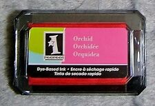 Inkadinkado Dye-Based Ink Pad for Stamping, Card Making & Paper Crafts - Orchid