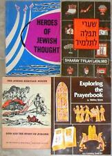 4 BOOKS ON JUDAICA ~ ALL IN ONE CHEAP LOT!