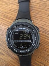 Suunto Vector Altimeter Barometer Compass Tactical Watch Black Green