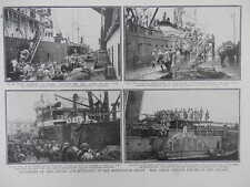 1916 FRENCH TRANSPORT FOR MACEDONIAN FRONT SALONIKA WWI WW1