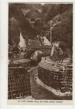 Up The Tanks Full Of Rain Aden 1935 RP Postcard 970a