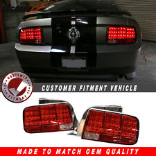 05-09 Ford Mustang Red LED Tail Lights - Sequential Turn Signal