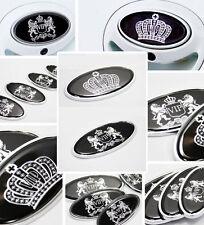 New VIP Style Car Emblems Sticker Crown Logo Hood Trunk Decal Sticker Emblems D