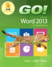 GO! WITH MICROSOFT WORD 2 - ALICIA VARGAS, ET AL. SHELLEY GASKIN (PAPERBACK) NEW