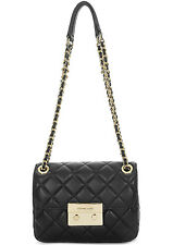 Michael Kors Sloan Large Chain Shoulder Bag - Black - 30F5GSLL1L-001