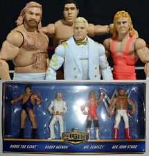 WWE Elite Hall of Fame The Bobby Heenan Family Andre Giant Mr. Perfect Studd new