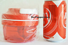 New 1x Tupperware turbo chef chopper slice and dice 300ml red preparation