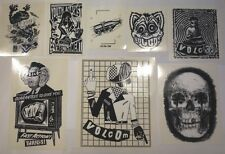 Volcom Sticker Pack A NEW 8x Aufkleber Skateboard Snowboard Stone Stickers SetA