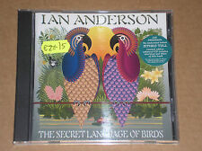 IAN ANDERSON - THE SECRET LANGUAGE OF BIRDS - CD LIMITED ED. COME NUOVO (MINT)