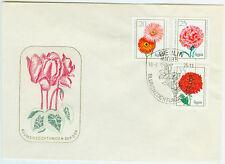 DDR FDC Ersttagsbrief 1975 Blumen  Mi.Nr. 2072 bis 2074