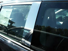 Chrysler Town and Country chrome pillar post trim stainless steel 4pc 2008-2014