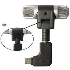 Go Pro Microphone Professional Audio Recording Adapter Gopro Hero 3/3+/4 DSLR'