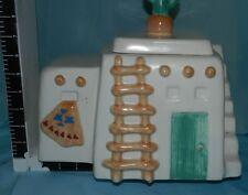 Vintage Treasure Craft Adobe Pueblo House / Home Cookie Jar VGC CJ0209