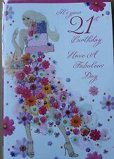 Il est de votre 21st anniversaire ont un fabuleux jour-carte d'anniversaire