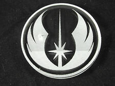 "1 x Acrylic display stand for Hasbro Star Wars 6"" Black Series - JEDI EMBLEM"