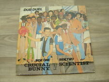 reggae LP DUB DUEL SCIENTIST V CRUCIAL BUNNY sly and robbie desi roots CHANNEL 1