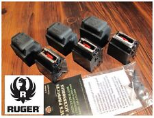 3 Pack Ruger 10/22 Magazines 22 LR BX-1 10 RD Clips 90451 W/ CAPS & FREE Goodie