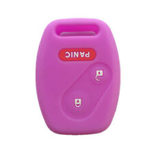 2+1 Buttons Purple Key Remote Key Fob Skin Key Cover Key Protector fit for Honda