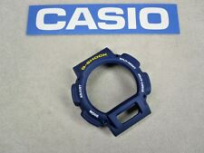 Genuine Casio G-Shock watch bezel DW-9051 DW-9052 DW-9052-2 navy blue rubber