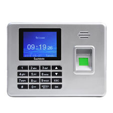 "A3 2.8"" Biometric TFT Fingerprint Attendance Time Clock Password Recorder Reader"