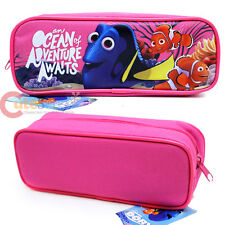 Disney Finding Dory Pencil Case Zippered Pouch Bag Nemo Cosmetic Bag Pink Canvas