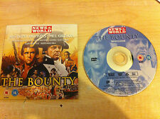 THE BOUNTY Starring Mel Gibson & Anthony Hopkins Robert Bolt Richard Hough DVD
