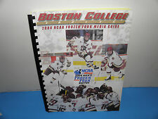 NCAA Boston College Eagles Mens Hockey 2004 Frozen Four Media Guide