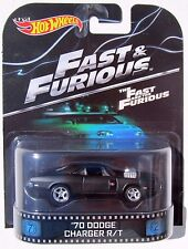 HOT WHEELS RETRO THE FAST THE FURIOUS 1970 DODGE CHARGER R/T