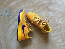 Nike Zoom Crusader University Gold/Court Purple/Varsity Maize Sneakers Sz 9