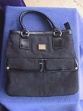 Liz Claiborne Signature Canvas Bag, Excellent