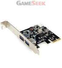 DYNAMODE 2-PORT SUPER SPEED USB3.0 PCIE (EXPRESS) CARD  LOW PROFILE BRAND NEW