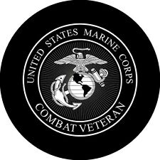 Marines logo #2 Spare Tire Cover Wheel Cover Jeep RV Camper(all sizes avail)