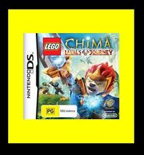 LEGO Legends of Chima Lavals Journey Game Nintendo NDS DS Lite DSi XL Brand New