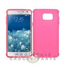 Samsung Galaxy Note 5 Candy Skin Pink Cover Shell Protector Guard Shield Case