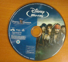 Pirates of the Caribbean On Stranger Tides BLU-RAY DISC ONLY FREE S/H ~~MINT~~