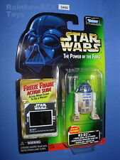 "Star Wars 1998 R2-D2 w/Spring Loaded Pop Up Scanner FF POTF 3.75""  Figure MOC!"