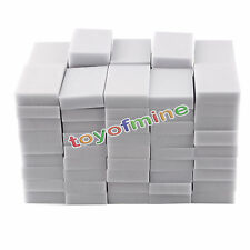 100PCS Magic Sponge Eraser Cleaning Melamine Multi-functional Foam Cleaner Pad