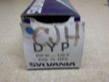 NEW Sylvania DYP 600W 120V Projection Lamp bulb *FREE SHIPPING*