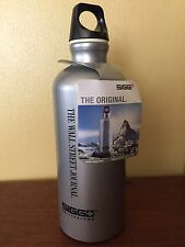SIGG ORIGINAL 0.6L (20 OZ) METALLIC SILVER WATER BOTTLE