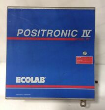 ECO LAB * 24V CHEMICAL CONTROL REGULATOR  *  POSITRONIC IV MODEL PT